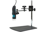 Q-scope QS.MS45c Metal Articulated-arm stand with fine focus adjustment   - fixed positioner