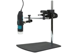 Q-scope QS.MS45D Metal Articulated-arm stand with fine focus adjustment and easy 3D positioner