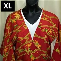 """Red Yuzen"" Japanique Jacket"