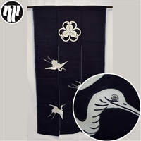 Japanese noren curtain