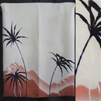 """Three Palms"" Haori Tapestry"