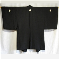 """Unlined with Crests"" Man's Haori"