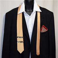 """Golden Guy"" Necktie-Pocket Square Set"