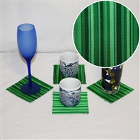 """Green Envy"" Coaster Set"