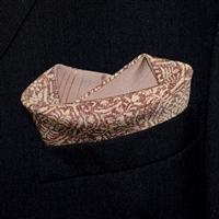 """Softie"" - Reversible Pocket Square"