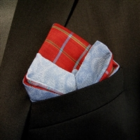 """Breezy Day"" - Pocket Square"