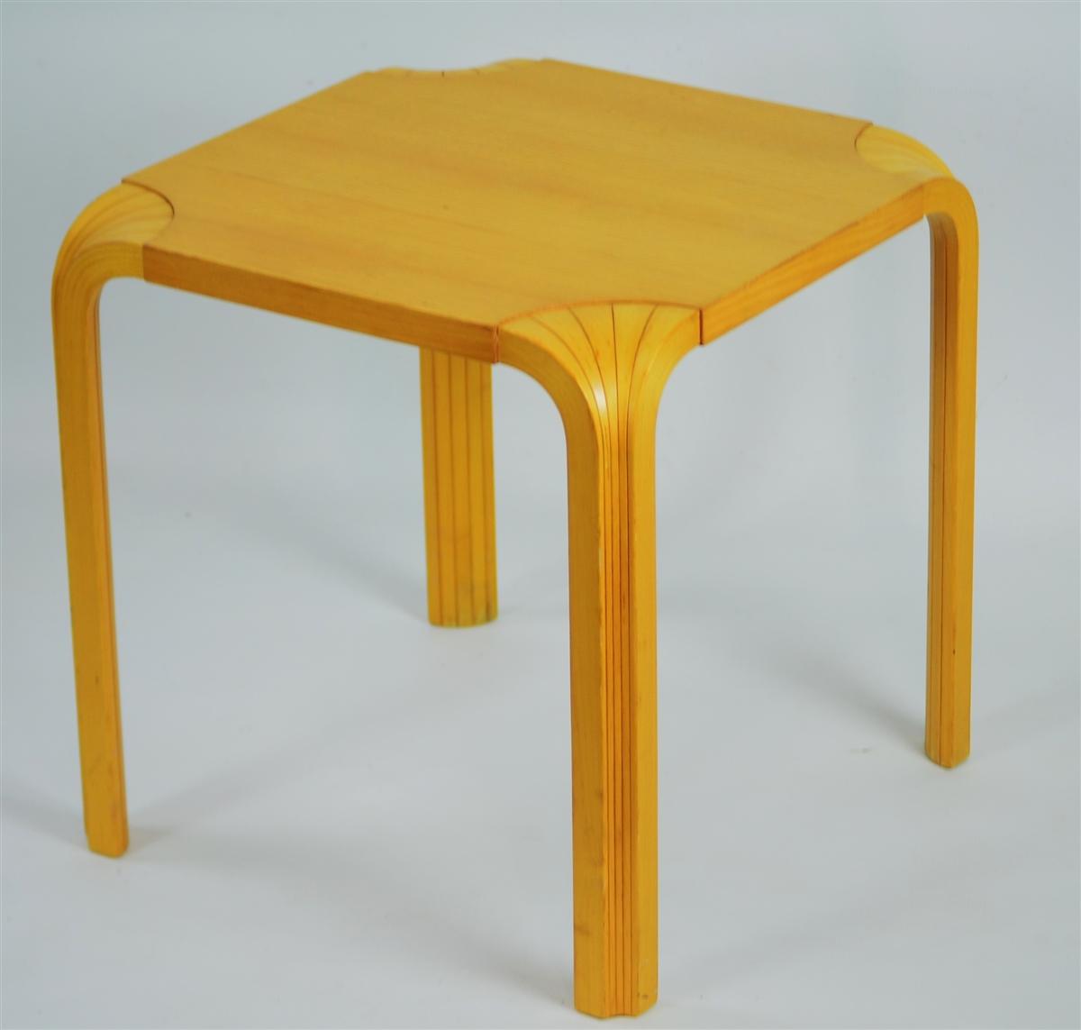 Fan Leg Table Alvar Aalto Inspired