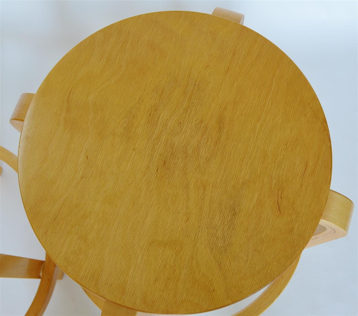 Bentwood Stackable Counter Stools Alvar Aalto Inspired