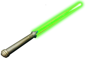 "LED Sword 28"" - Green"