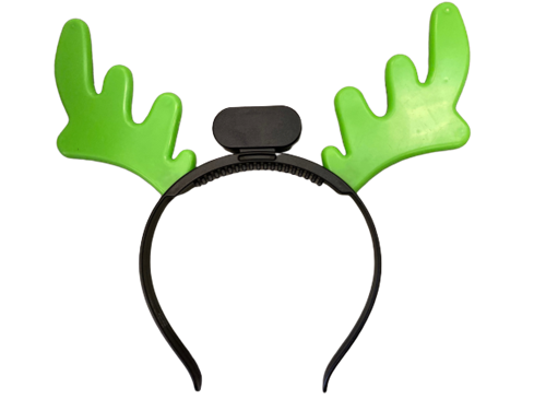 Light Up Reindeer Headband