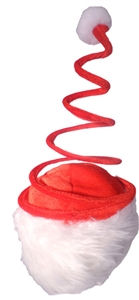 Spiral Novelty Santa Hat