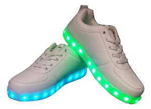LED Shoes - White (Men's Size 11)