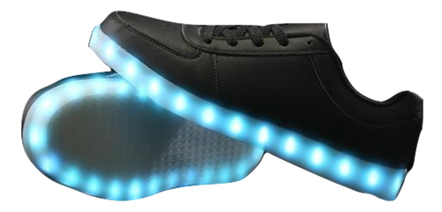 LED Shoes - Black (Men's Size 12)