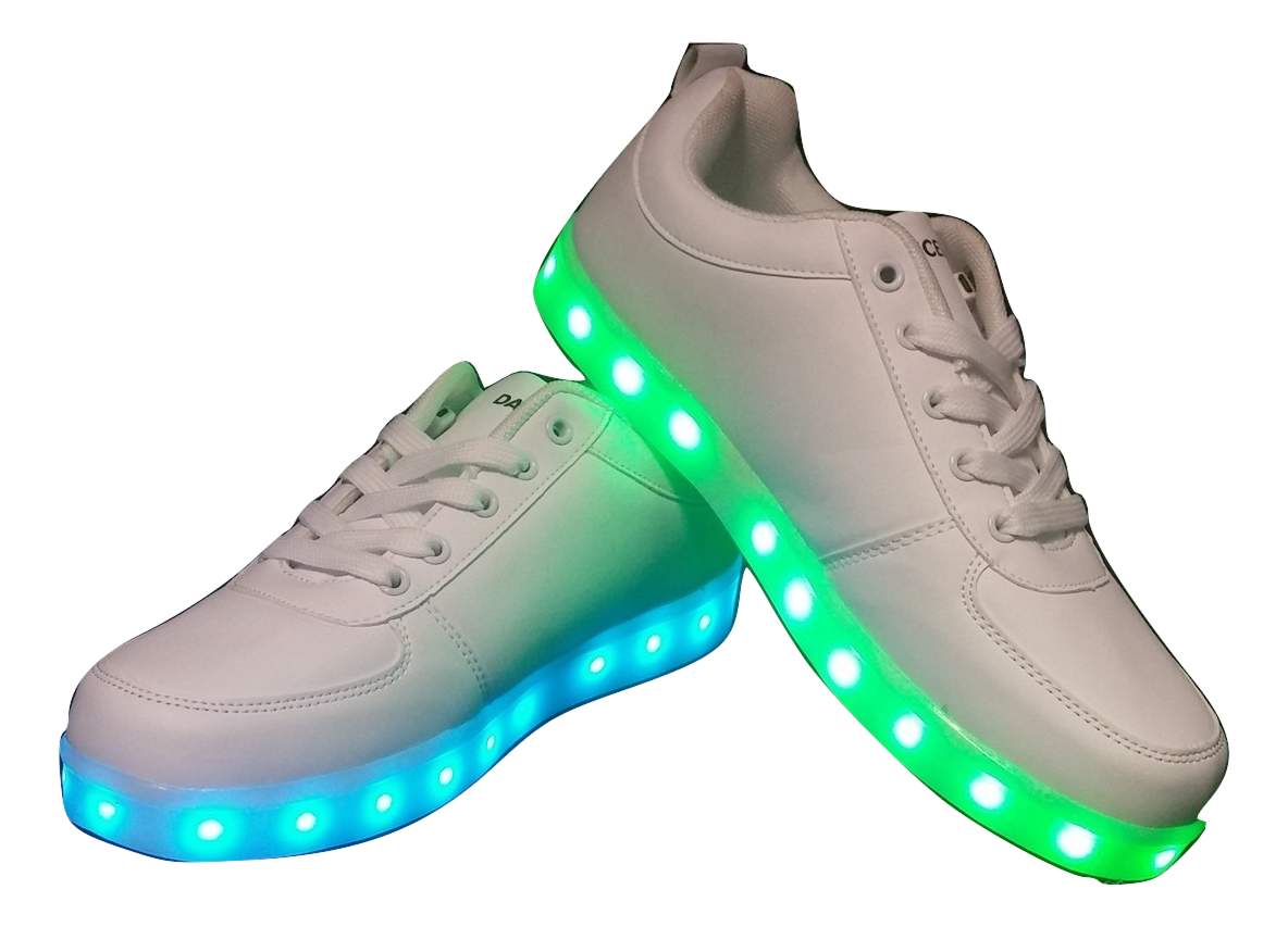 b8cf0990 LED Shoes - White (Men's Size 12)