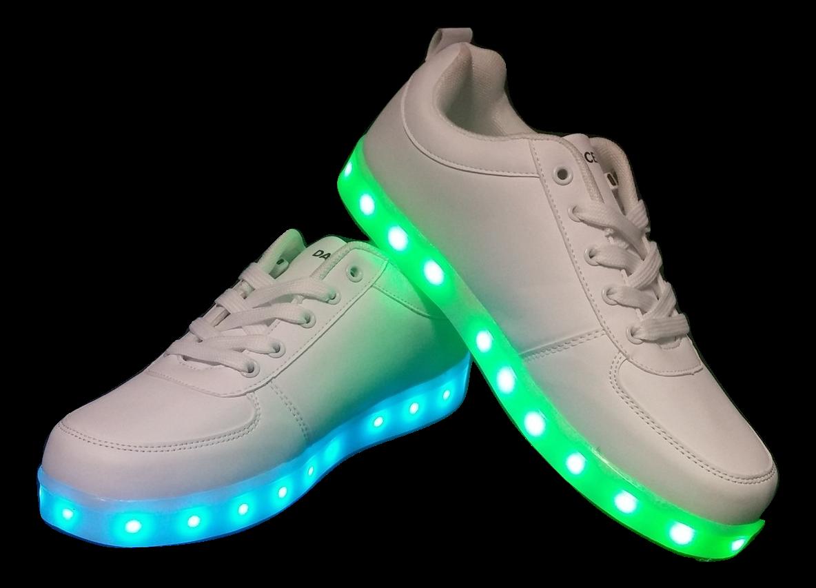 9fc0b57b9d09 LED Shoes - White (Men s Size 6)