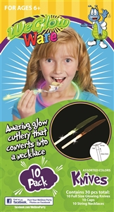 WeGlow Ware Clear Knife