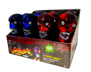 Skull Bobble Wand (12 Piece PDQ)