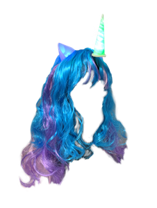 $3.99 per pc - Unicorn Headband with Hair - Lot of 717 pcs