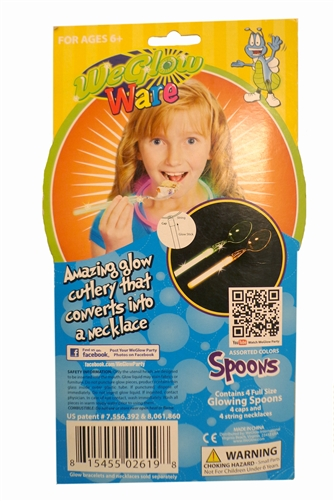 WeGlow Ware Spoon - 4 Pack