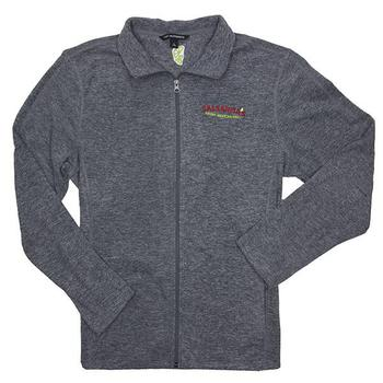 Men's Microfleece Jacket - Pearl Grey Heather