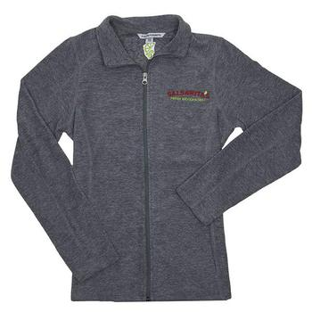 Ladies Microfleece Jacket - Pearl Grey Heather