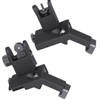 FLIP UP 45 DEGREE OFFSET FRONT AND REAR SIGHT SET