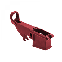 80% FORGED 5.56 LOWER RECEIVER- RED