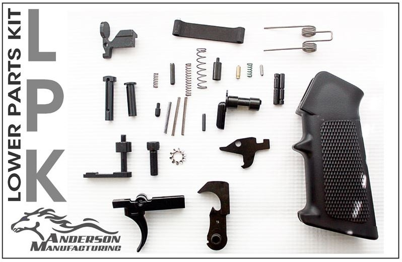 Anderson Manufacturing Ar15 Lower Receiver Parts Kit