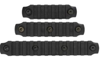 BCM KEYMOD NYLON RAIL SECTION BLACK