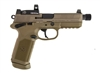 FNH FNX-45 TACTICAL 45 AUTO FDE PISTOL WITH VORTEX VENOM RED DOT