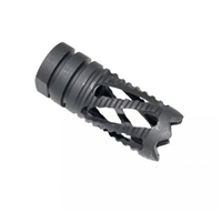 AR15 SPIRAL FLASH HIDER 1/2X28