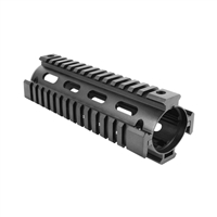 "GUNTECH USA 7"" TWO PIECE ""DROP IN"" CARBINE QUAD RAIL"