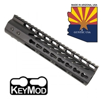 "GUNTECH USA 9"" ULTRA LW THIN KEYMOD RAIL"