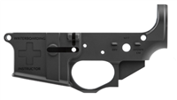 "SPIKE'S TACTICAL AR15 ""WATERBOARDING INSTRUCTOR"" MULTI CAL LOWER RECEIVER"