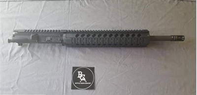 "AR15 5.56 16"" UPPER W/ 12"" QUAD RAIL"