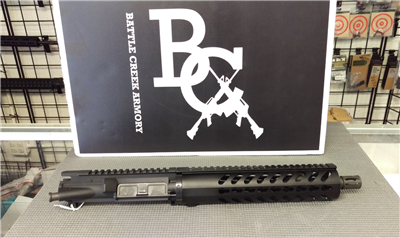 "AR15 5.56MM 10.5"" UPPER W/ 10"" RD KEYMOD RAIL"