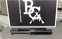 "AR15 9MM 5.5"" UPPER W/ 7"" SLANT NOSE KEYMOD RAIL"