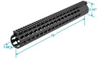 "UTG PRO .308 KEYMOD 15"" HIGH PROFILE RAIL"