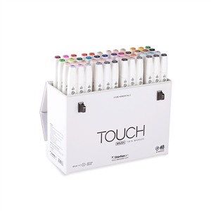 ShinHan TOUCH TWIN 48 BRUSH MARKER SET