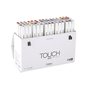 ShinHan TOUCH TWIN 60 BRUSH MARKER SET [A]