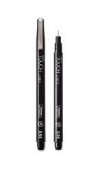 TOUCH LINER Brush Red - ShinHan Art Touch Liner
