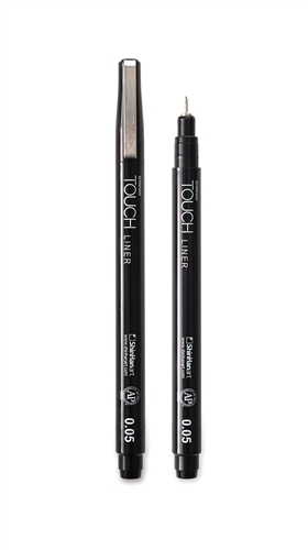 TOUCH LINER 0.1mm Red - ShinHan Art Touch Liner