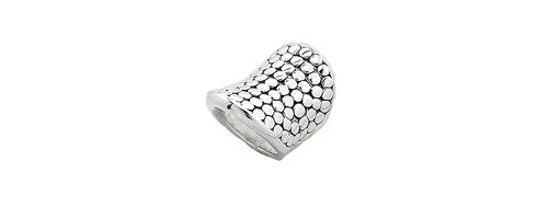 Sterling Silver Women's Chic Ring Size 6