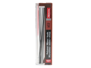 Aristo Finelead Polymer 0.50 2B mechanical pencil refill