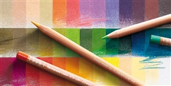 Caran d'Ache Luminance 6901 Single  Colored Pencil 876 Burnt Ochre 50%