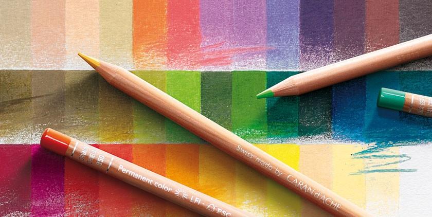 Caran d/'Ache Luminance 6901 Colour Pencil Prussian Blue