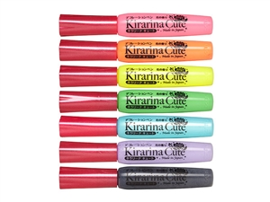 All Kirarina Cute Scented 3D Puff Paint Pen List