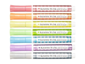 All Kirarina WiNK Glitter Pen Markers List