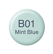 Copic Ink B01 Mint Blue