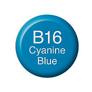 Copic Ink B16 Cyanine Blue